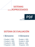 Sistemas Microprocesados Jorge Carvajal