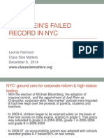 Joel Klein's Record of Failure as NYC Chancellor