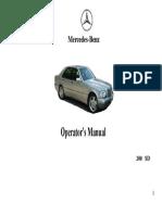 Mbenz Manual