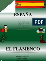 official flamenco spanish