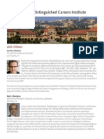 Richard A. Kimball Jr. - Stanford DCI Fellows 2015