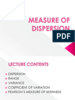 Lecture 7-Measure of Dispersion