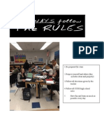 Classroom Rules Revised