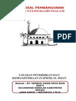 proposal-pembangunan-majlis-talim-darussalam.doc