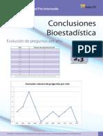 Conclusiones Bioestadística