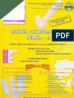 Cuadernillo Batería Psicopedagógica Evalúa 8 versión adaptada para chile