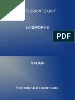Landforms PPT Presentation