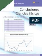 Conclusiones Ciencias Básicas