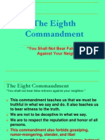 R 8th Commandment