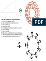 pattern brush radial