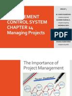 Sistem Informasi Manajemen Bab 14, Managing Projects