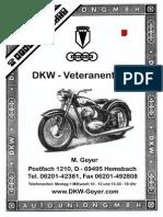 DKW Geyer Katalog