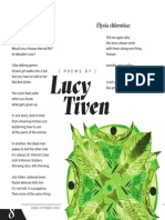 poems by Lucy Tiven