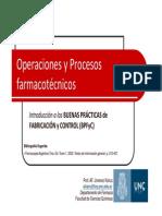 Clase Teórica_Procesos Farmacotecnicos y BPFyC