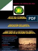 educacion esclavista