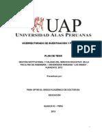 PLAN DE TESIS - UAP I
