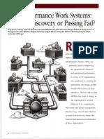 A study on hpws
