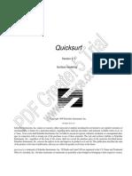 Quicksurf Dokumentation Englisch