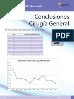Conclusiones CIrugía General