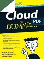 Cloud for Dummies, IBM Midsize - Hurwitz, Judith