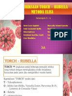 Pemeriksaan TORCH-Rubella Metode Elisa