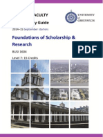 Final FOSR BUSI 1604 Course Study Guide 2014-15