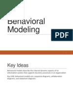 Lab 5 Behavioral Model