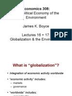 Globalization  Envt