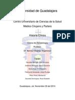 Caso clínico hematología