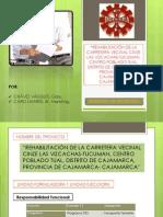 Proyecto -_rehabilitación de La Carretera Vecinal Cinze Las Vizcachas-tucuman, Centro Poblado Tual, Distrito de Cajamarca, Provincia de Cajamarca- Cajamarca