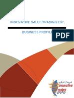 Innovative Sales Profile