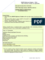 HKPFS Academic Referees Report Form Aug 2014