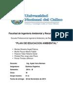 Plan de Eduacion Ambiental