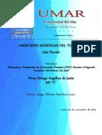 Indicadores Trimestrales de La Actividad Turística (ITAT) Durante El Segundo Trimestre (Abril-Junio) de 2014