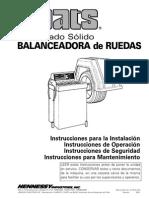 Manual Balanceadora Coats 850 en Esp
