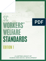 SC Workers' Welfare Standards, Edition 1