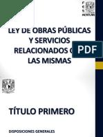 Ley de Obras Públicas