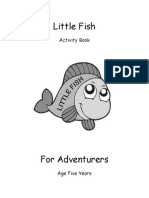 01 little fish activity book
