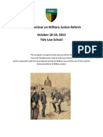 Global Seminar on Military Justice Reform 2013 Report Full