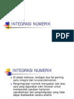 Pertemuan7-Integrasi Numerik