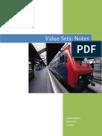Value Set Notes