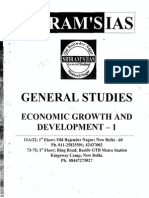 SRIRAM IAS Indian Economy for GS Prelims VOL - 1 2014
