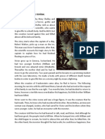 Frankenstein Book Review