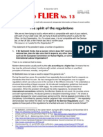 EPO-FLIER 13 - The Spirit of the Regulations