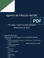 Agentes de Infección de SNC