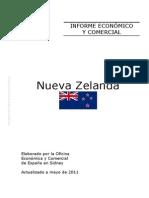 Informe Económico y Comercial Nueva Zelanda