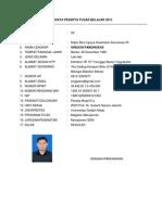Biodata Peserta Tugas Belajar 2013