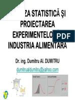 Analiza Statistica Si Proiectarea Experimentelor C1_2014