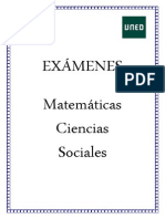 Examenes Matematicas Ciencias Sociales