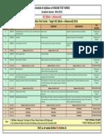 Download Syllabus Jee Advanced 2016 Nurture Online Test Series